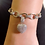 Thumbnail: Luxury Heart Shape Jewelry Set Micro Cubic Zirconia Gold