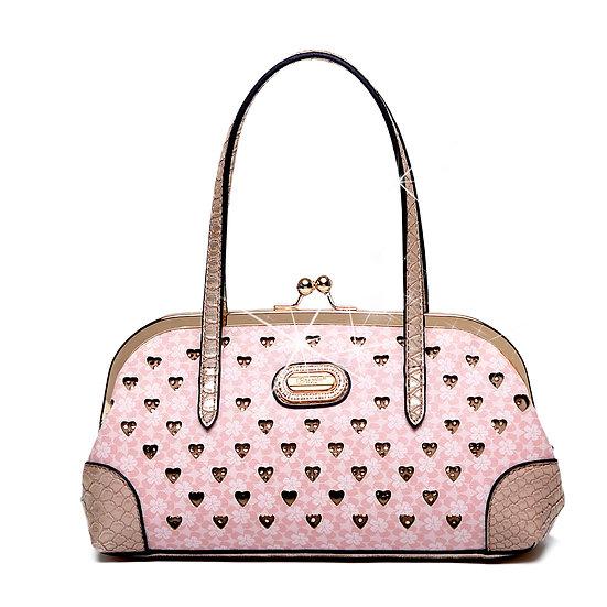 Twinkle Matte Womens Evening Bag Mini Clutch & Shoulder Strap