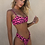 Thumbnail: Women's Sexy Leopard Print Two-Piece Triangle