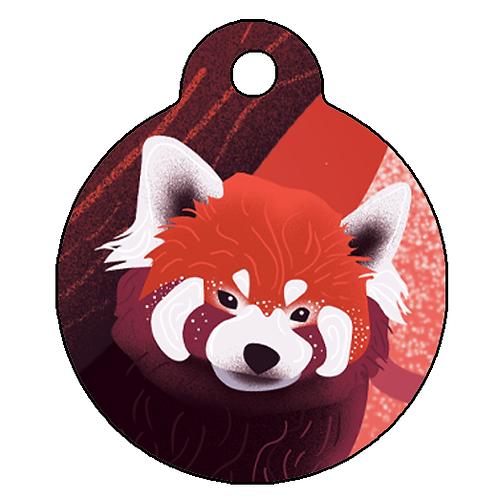 """Adresówka klasyczna """"Panda czerwona/Firefox"""" 🔥"""