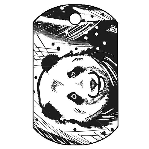 """Adresówka nieśmiertelnik """"Panda"""""""