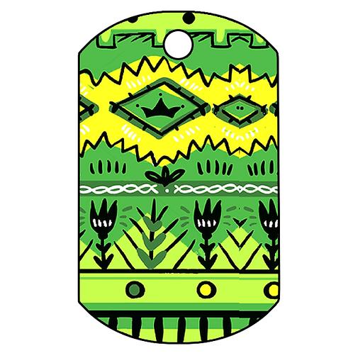 """Adresówka nieśmiertelnik """"Kaktus"""""""