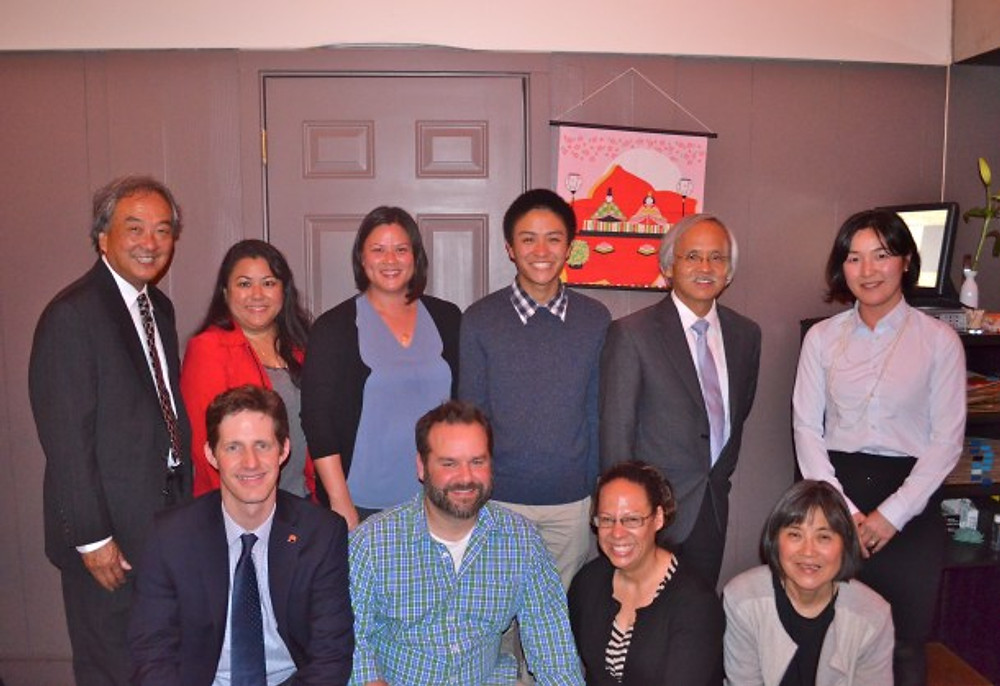 Grant Tominaga and JETAANC Board and Executive Committee Members