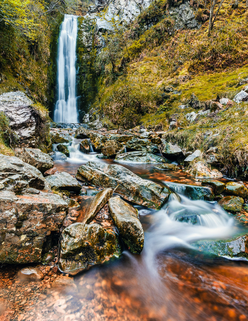 PDI - Irish Waterfall by Adrian Wheeler (9 marks)