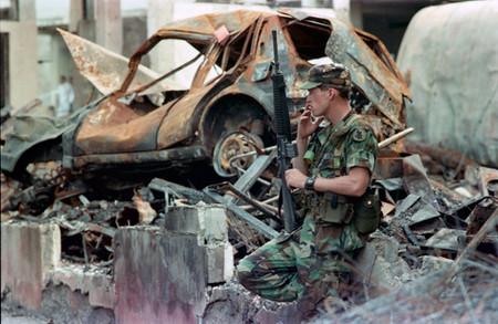 el chorrillo, panama. 1989