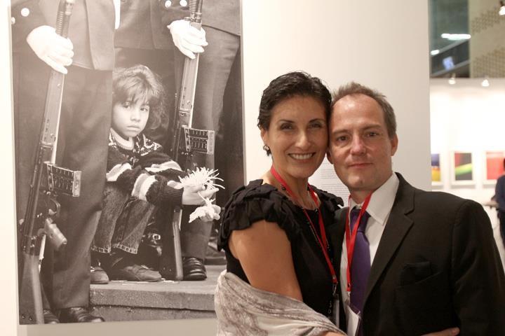 Zoraida Díaz y Klaus Steinmetz