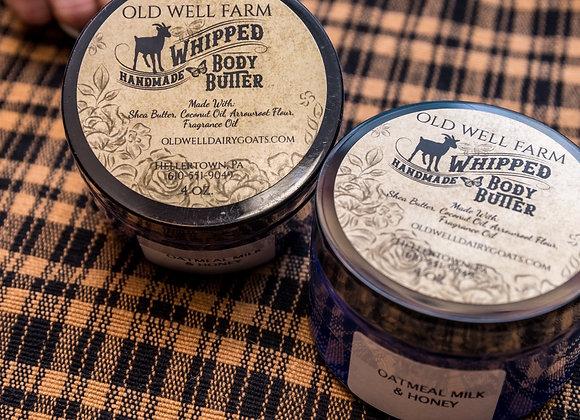 Body Butter Honey Oatmeal