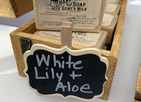 SALE!!! White Lily & Aloe