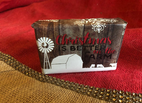 Christmas is better on the farm Gift Wrap