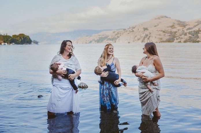 Vernon, BC (breastfeeding awarness week)
