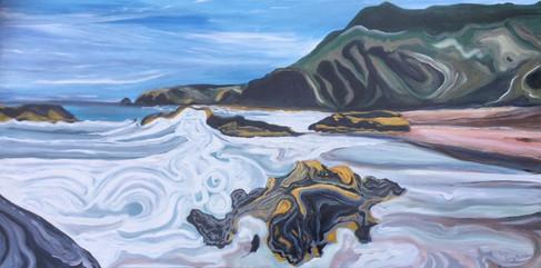 The Sea at Llangrannog 3