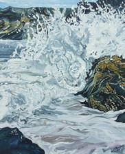 Crashing Waves at Llangranog