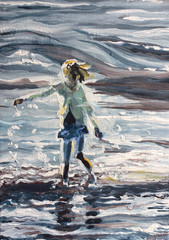 Girl in the Sea 3