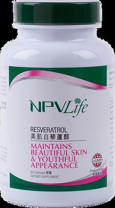 NPVLife 美肌白藜蘆醇 (60粒膠囊)(EAN: 840011710051)