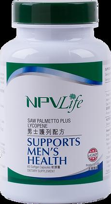 NPVLife 男士護列配方 (60粒軟膠囊)
