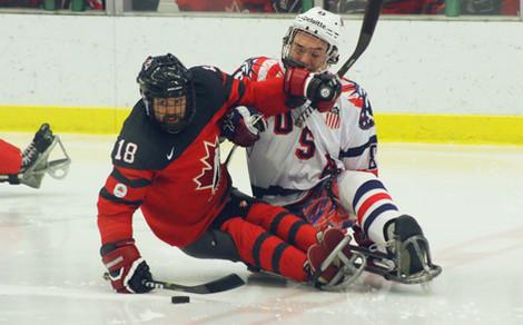 Billy Bridges, Canadian Paralympic Sledge Hockey