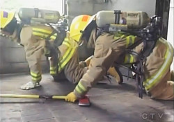 Female Firefighters in Training