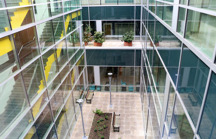 Atrium in Parkwood Mental Health Care Building