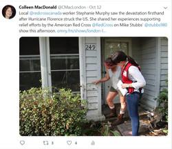 local Red Cross Volunteer on Global
