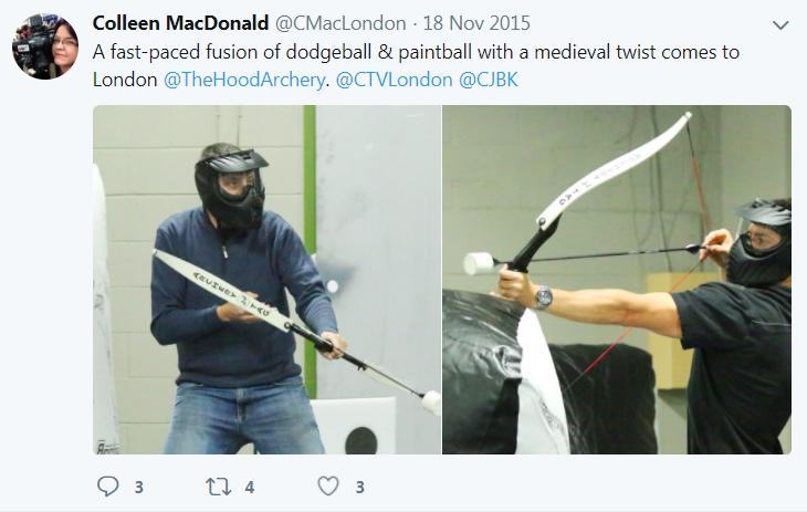 wix - twitter - archery