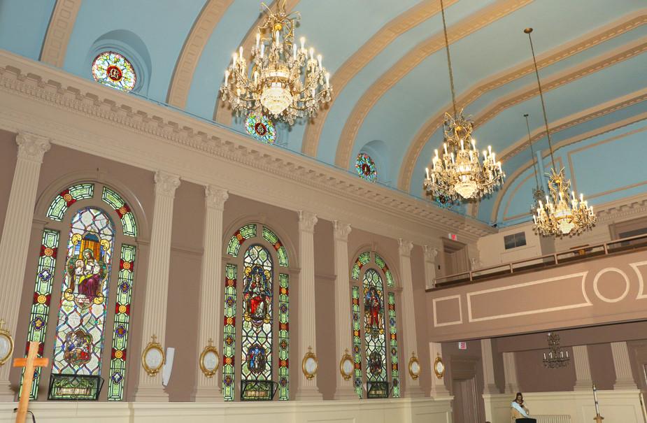 the chapel at St. Joseph's Hospital