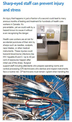 Health Care Safety Messaging