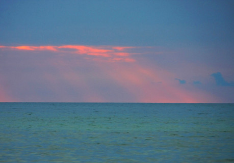 Lake Huron funky sky