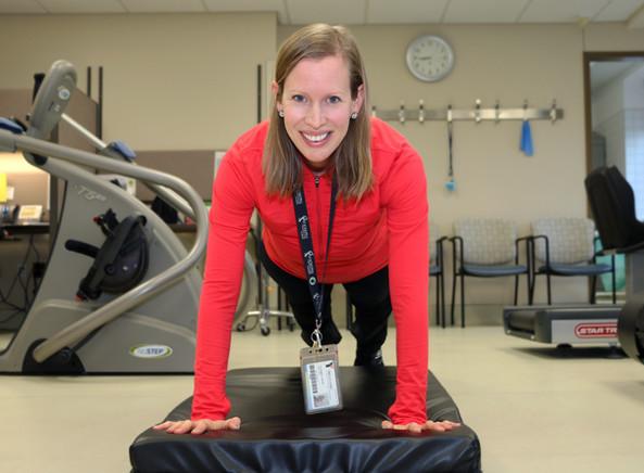 Physiotherapist Amanda Cunningham