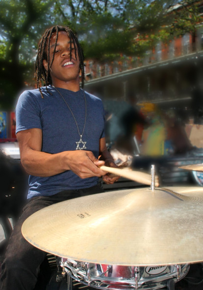 Every corner is alive with music during French Quarter Festival in New Orleans.