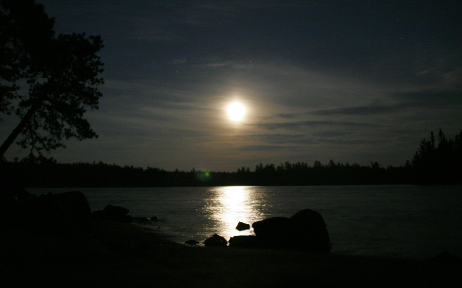 Moonrise in Temagami