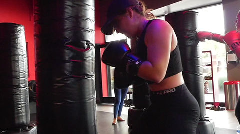 Fitness Kickboxing Class in Boca Raton