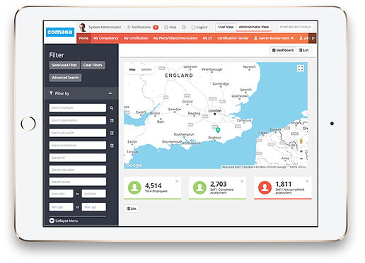 competency analytics from comaea
