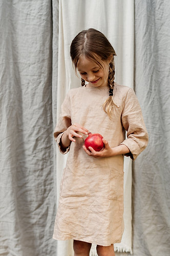 Care for the Earth - linen dress
