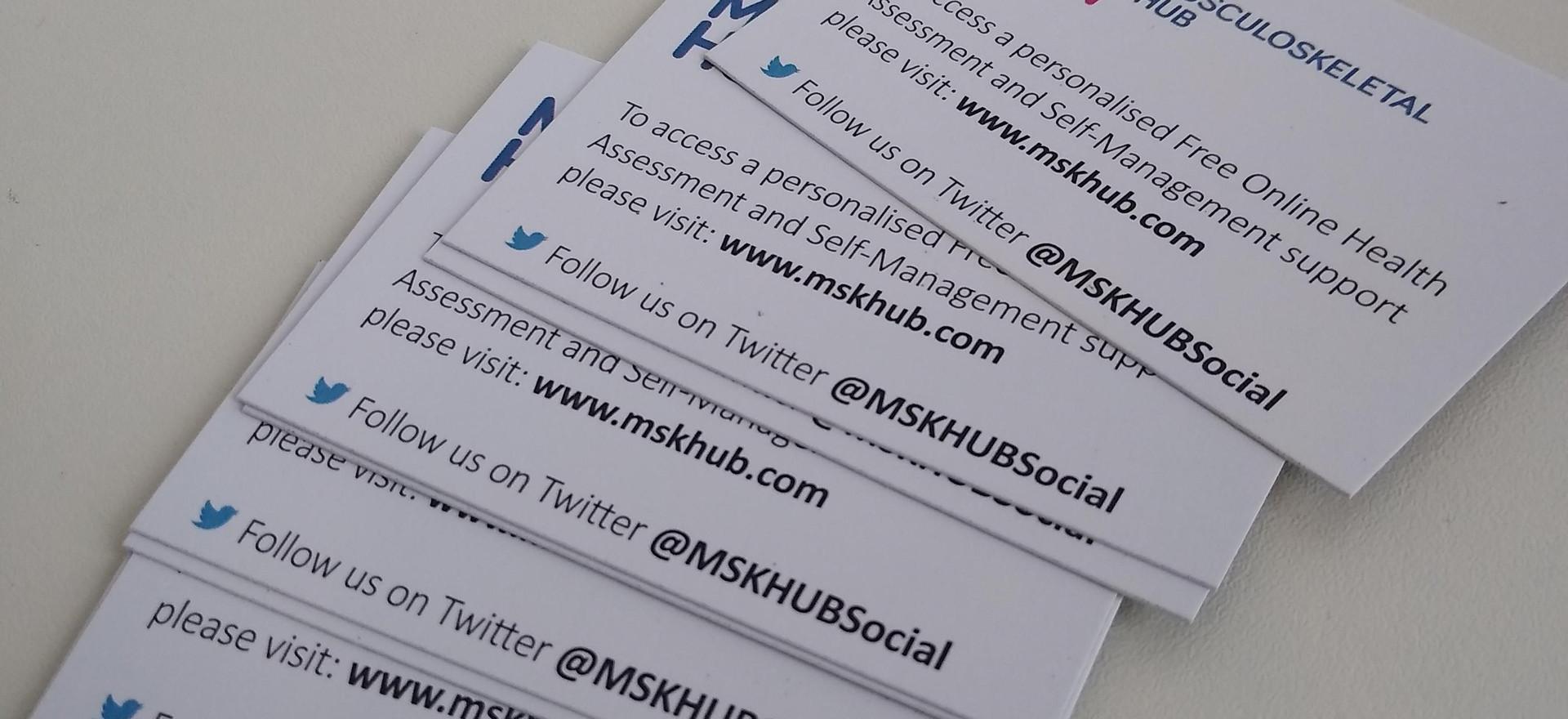 MSKHub cards