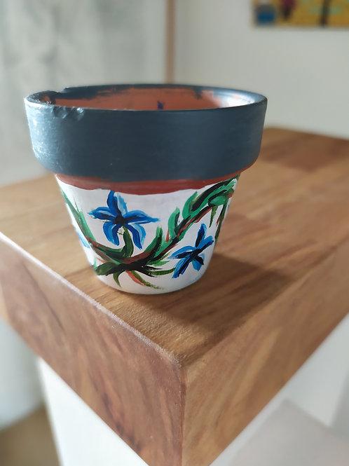 Mini Terracotta Pot - Flower