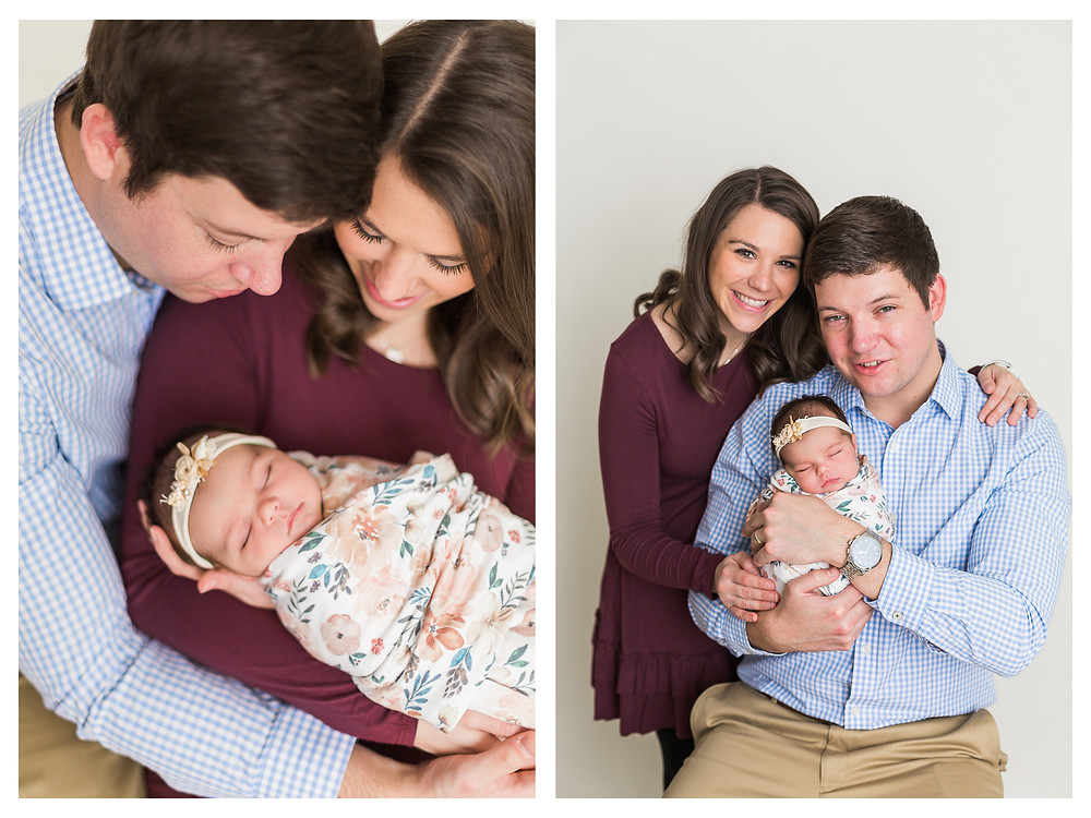 Springfield illinois newborn photographer studio