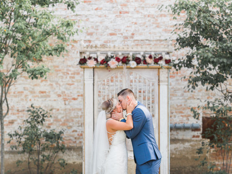 Sierra + Brandon   Eureka, Illinois Wedding Photographer