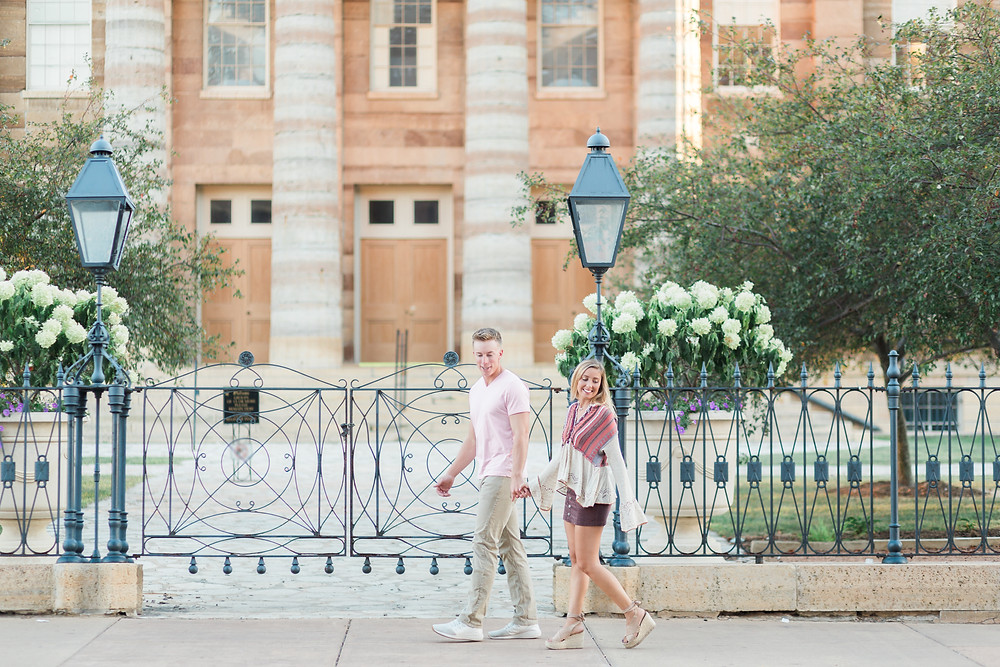 old state capitol engagement photos