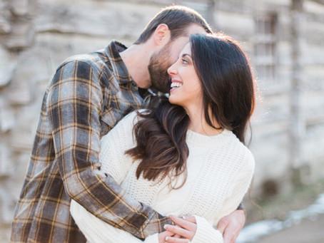 Kathryn + Nate | New Salem | Petersburg, Illinois Engagement Photographer