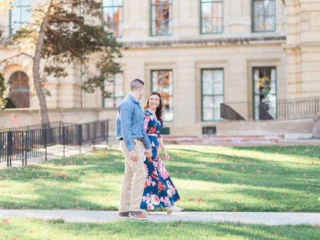 Rose + Daniel | Springfield, Illinois Engagement Photography