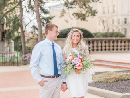 Kelsey + Kyle | Springfield, Illinois Wedding Photographer | Couples Session