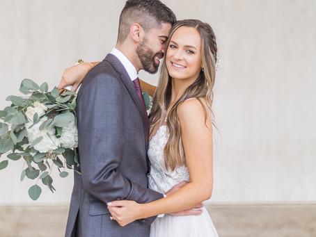 Lauren + Mohammad | Springfield Illinois Timeless Backyard Downtown Wedding Photographer