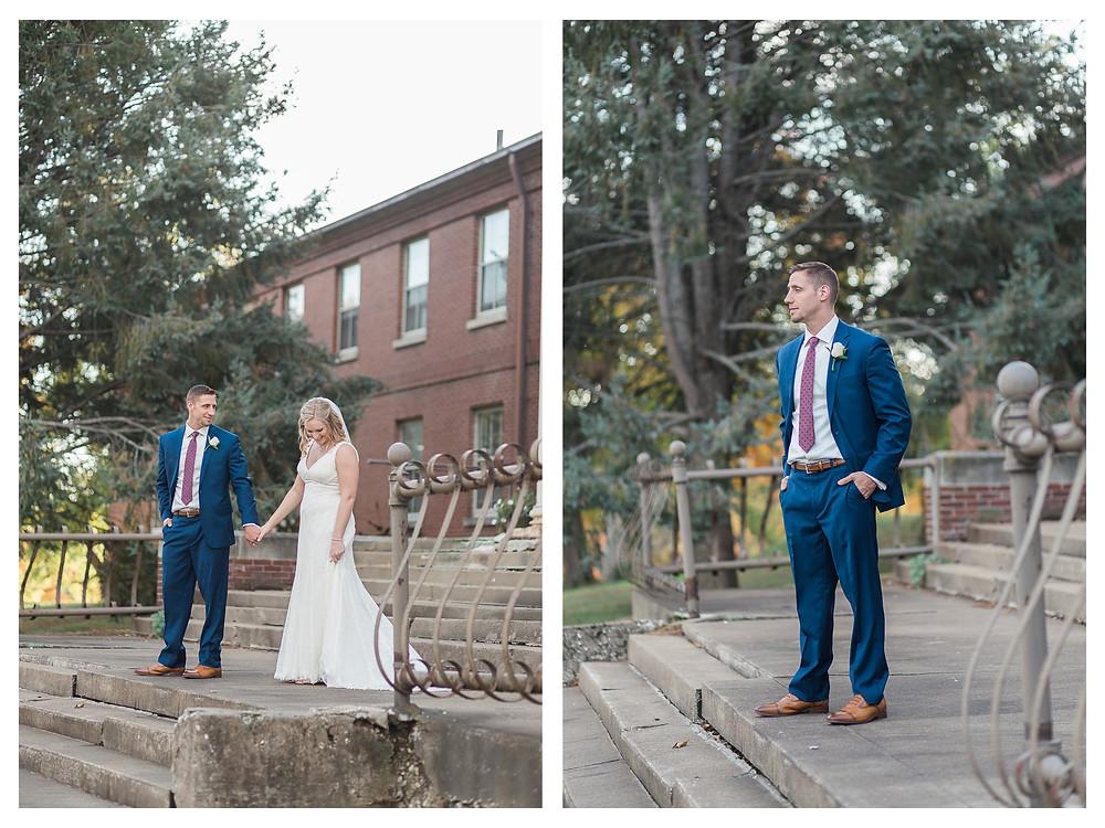 central illinois photographer fall wedding