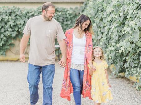 Michelle + Sean | Allerton Engagement Family Session | Central Illinois Photographer