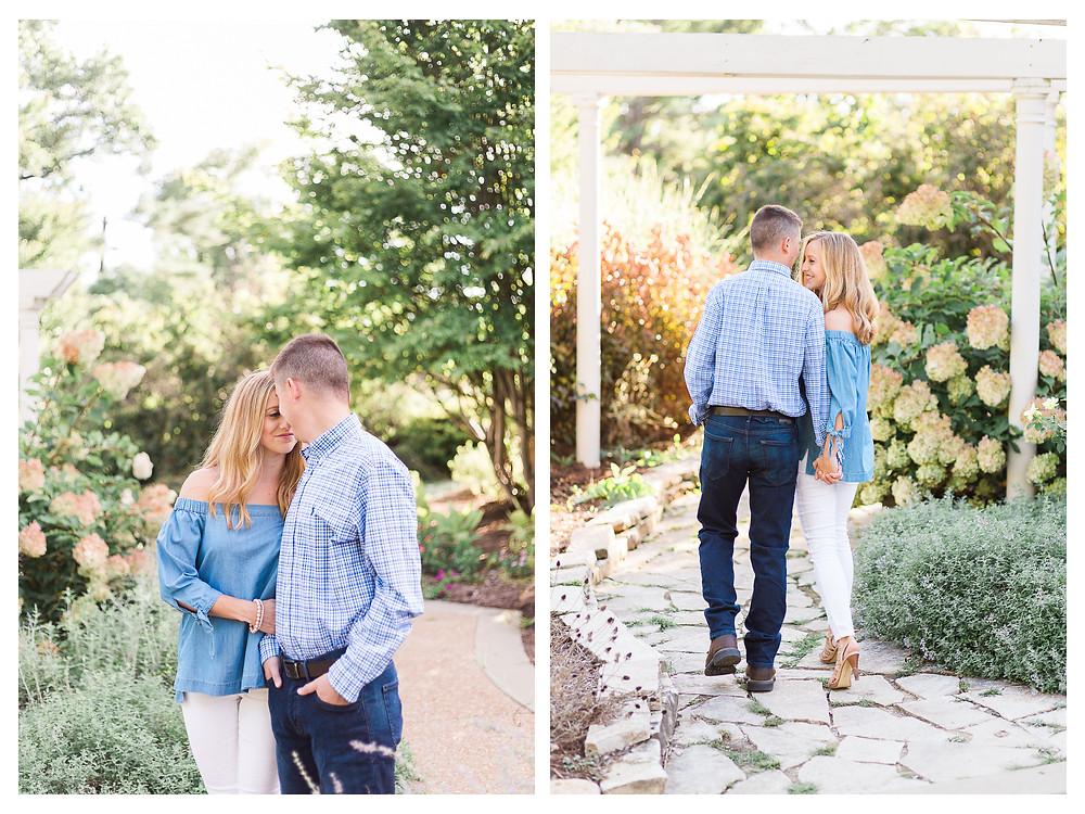 candid engagement session in central illinois