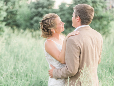 Betsy + Austin | Springfield, Illinois Wedding Photographer | Midwest Farm Wedding