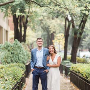 Caroline + Patrick   Chicago, IL Engagement