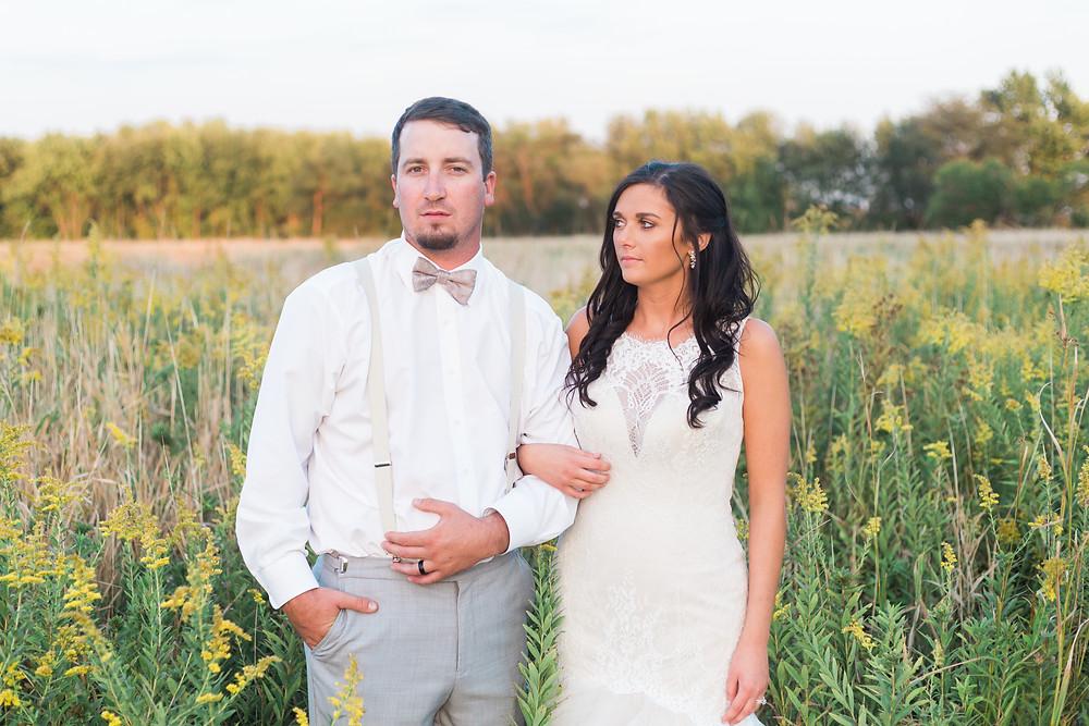 central illinois couple wedding photographer