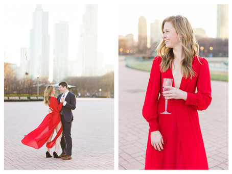 Abby + Ryan   Chicago, Illinois Engagement Session   Central Illinois Photographer