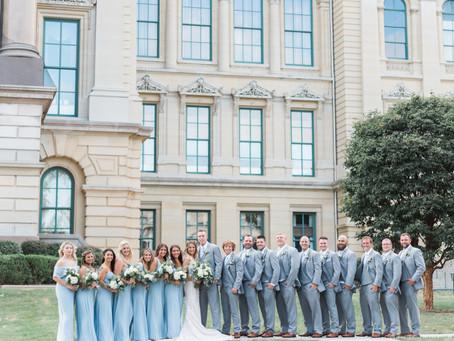Maddie + Corey   Springfield, Illinois Wedding Photographer